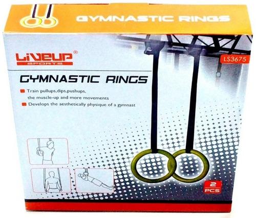 jogo de argolas olímpicas para cross fit - liveup ls3675