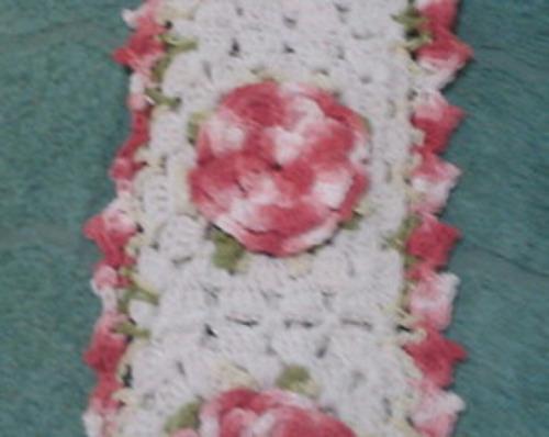 jogo de banheiro flowers