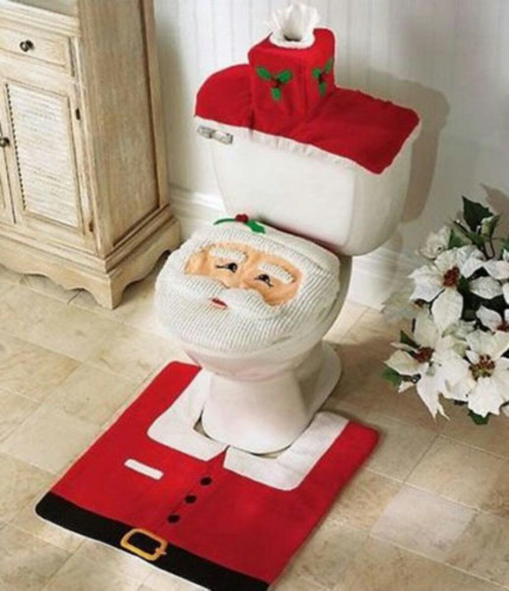 Jogo De Banheiro Para Natal Off 20 Carregando Zoom