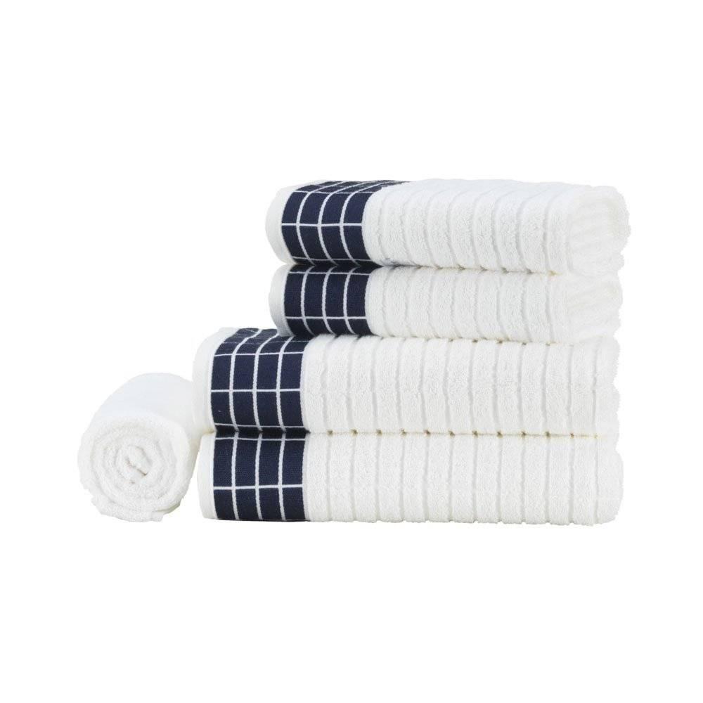 746d94a73 jogo de banho 5 peças karsten softmax teodor branco marinho. Carregando  zoom.