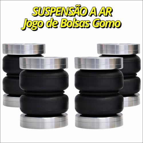 jogo de bolsas de gomo 8mm e 10mm - punto 2015
