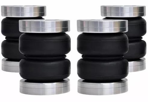 jogo de bolsas de gomo 8mm e 10mm - saveiro g4 2009