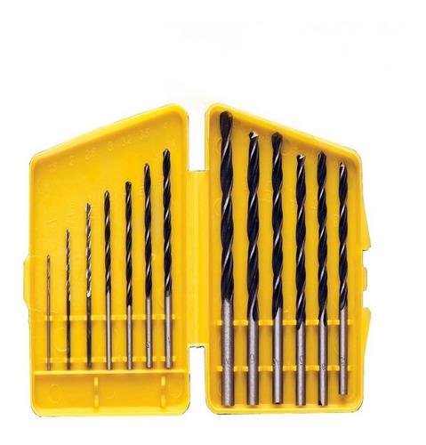 jogo de brocas aço carbono com 13 peças 1,5 a 6,5 eda 6xj