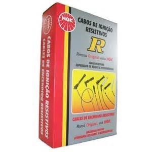 jogo de cabos velas ngk fiat uno mille 1.0 1990 a 2001 sct07