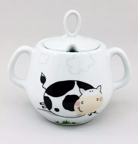 jogo de café porcelana 03 peças frete grátis