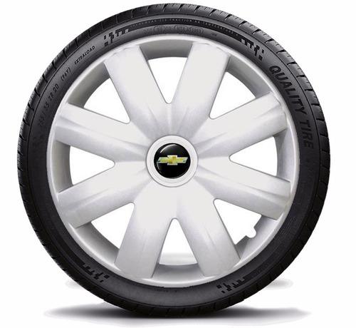 jogo de calota aro 14 corsa sedan 2011 de encaixe - 4 peças