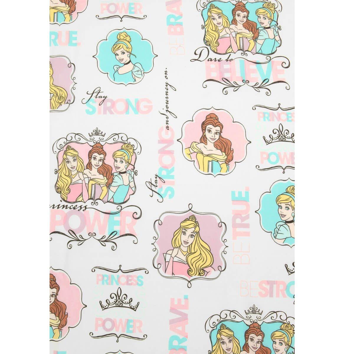 7d83a872ca jogo de cama 3 peças princesas disney para quarto de menina. Carregando  zoom.