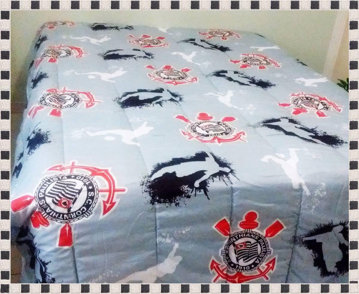 bfa52e8a3f jogo de cama - casal corinthians. lençol com e sem elastico. Carregando  zoom.
