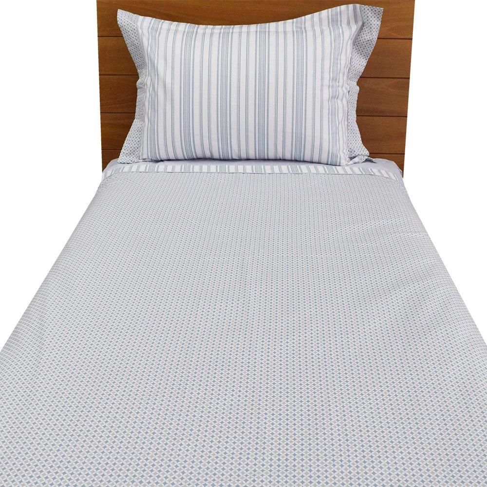 b4ab12a988 jogo de cama confort toronto solteiro - azul - buddemeyer. Carregando zoom.