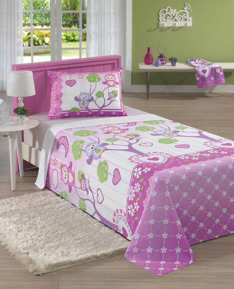 Jogo de cama infantil 100 algod o meninas e meninos - Dosel para cama infantil ...