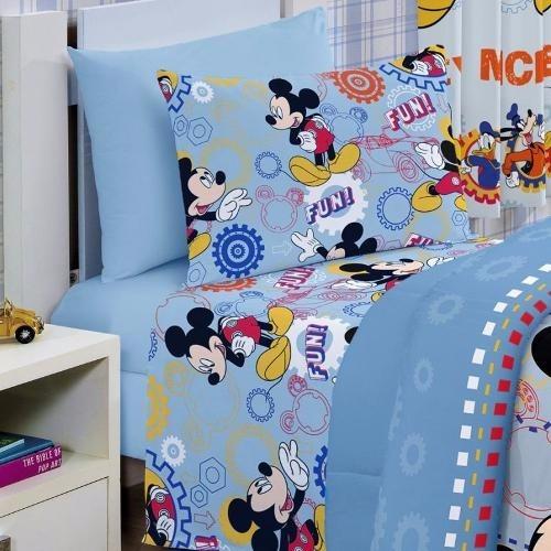c032223a13 Jogo De Cama Infantil Disney Mickey Happy 3 Peças Santista - R  59 ...