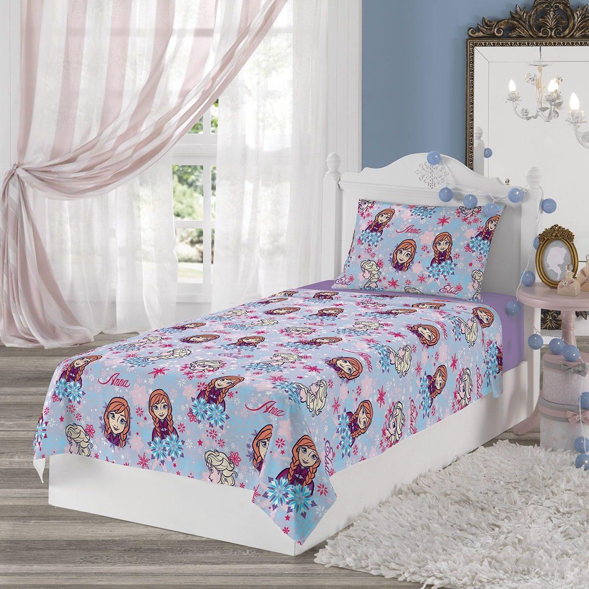 e9ad30ea87 jogo de cama infantil frozen 2 peças lençol lepper promoção. Carregando  zoom.