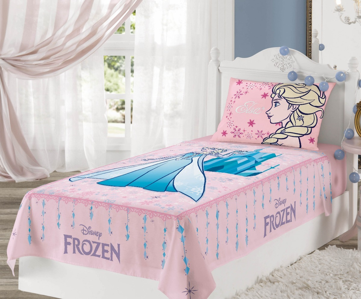 43002b655b jogo de cama infantil frozen 3 peças lançamento lepper. Carregando zoom.