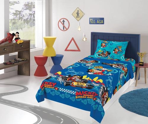 jogo de cama infantil microfibra 2 peças lepper solteiro