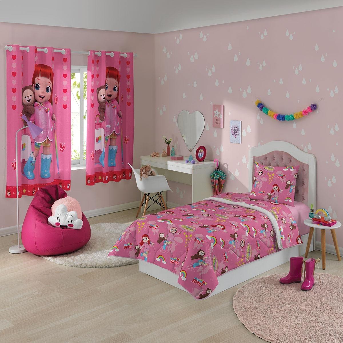 31d2f59ed4 jogo de cama infantil solteiro rainbow ruby promoção lepper. Carregando  zoom.