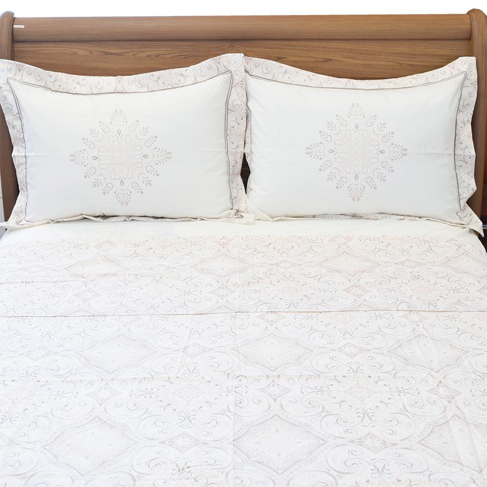 0a1d1bb733 jogo de cama queen vida bela 200 fios - scarf - kacyumara. Carregando zoom.