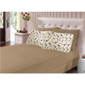 jogo de cama solteiro malha quebec cotton