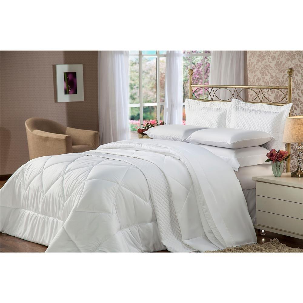 da558a405a jogo de cama solteiro plumasul soft touch 3 peças - branco. Carregando zoom.