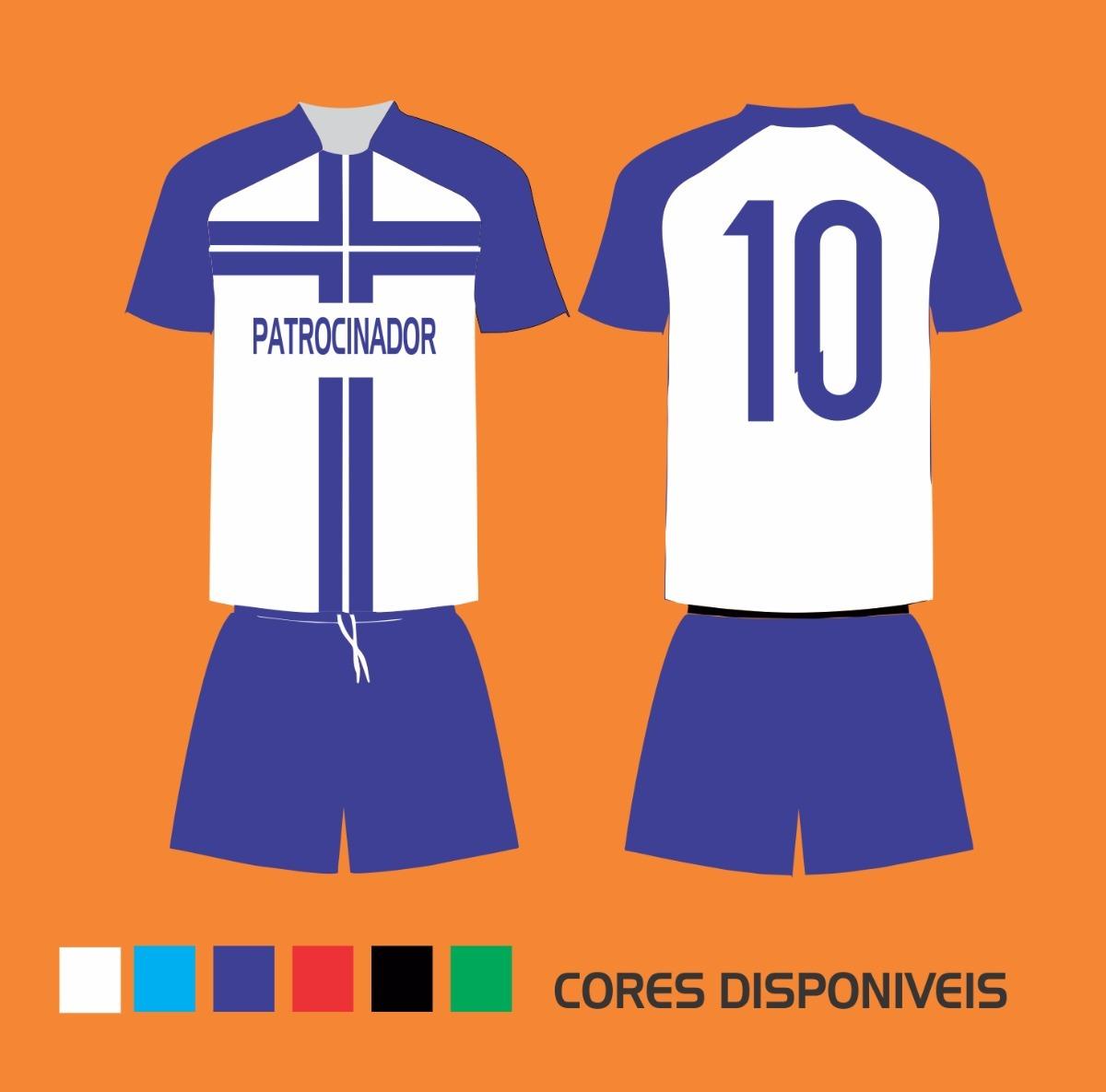 ... fardamento uniforme esportivo futebol. Carregando zoom. b5055a027f954