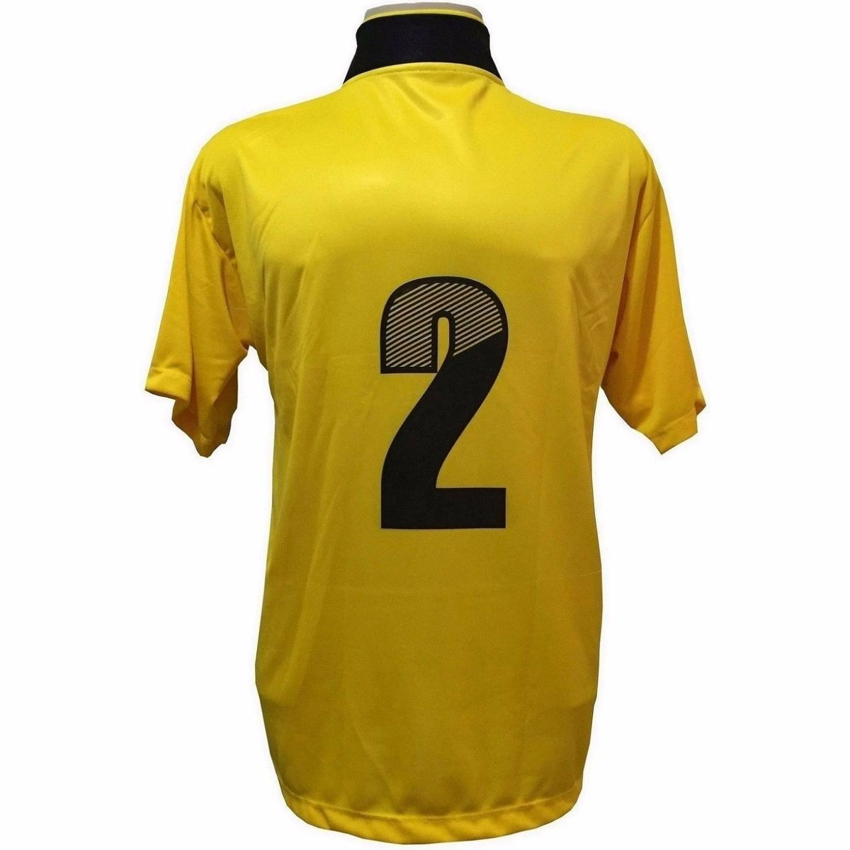 90d5f8bd75 jogo de camisa com 14 unidades modelo suécia amarelo preto. Carregando zoom.