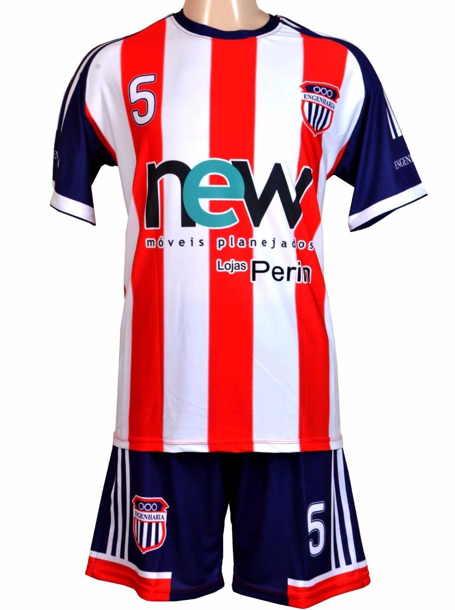 636493e76d jogo de camisa personalizado - conj uniforme esportivo. Carregando zoom.