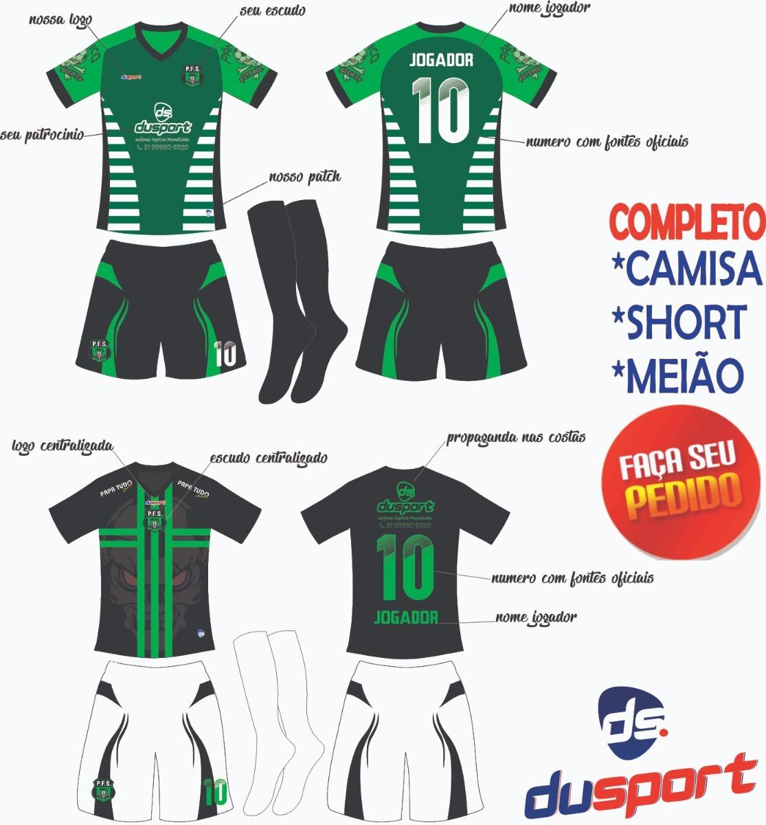 Jogo De Camisa Personalizado bae73fa01ef73