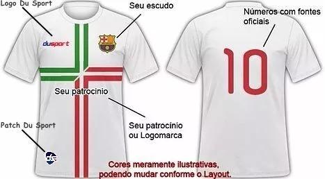 Jogo De Camisa Personalizado a6ab9bbc5b86a