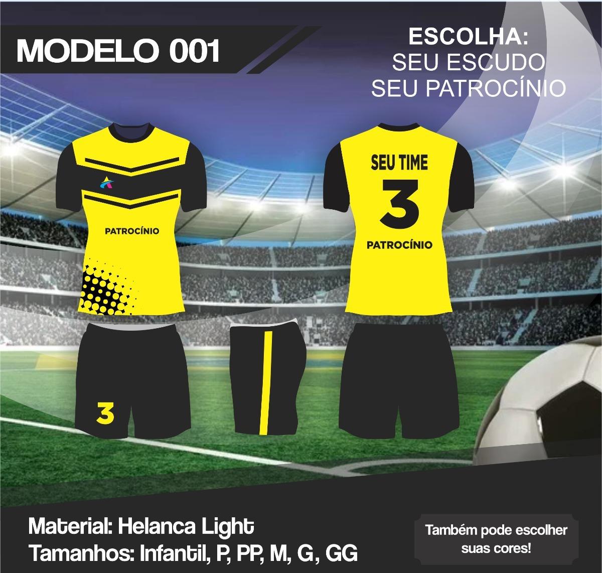 ... fardamento uniforme futebol kit 15pc. Carregando zoom. c8c559c7796b5