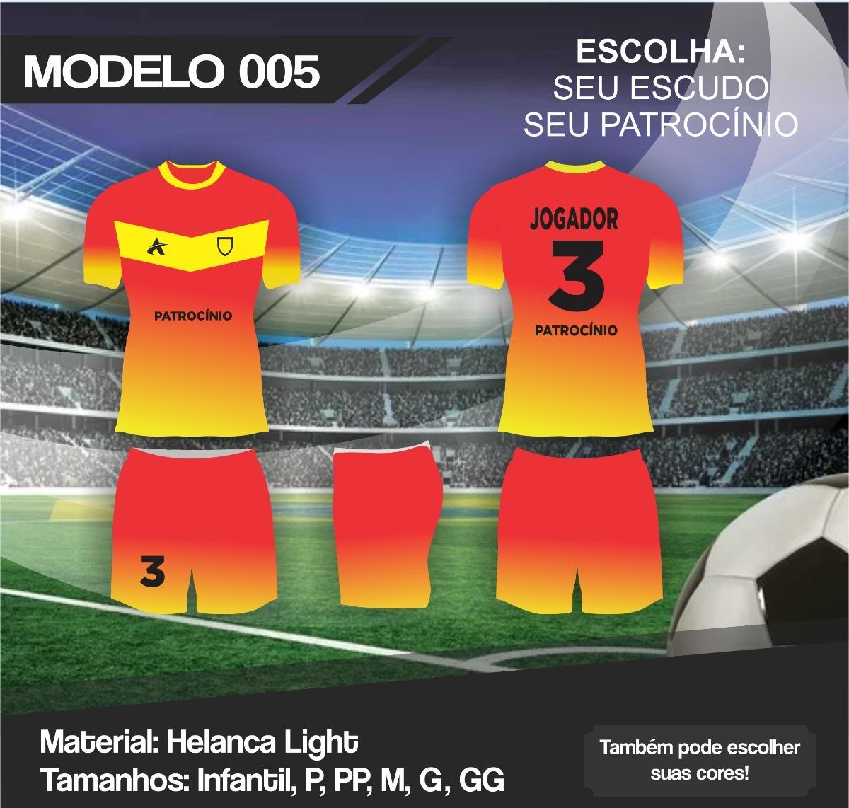 Jogo De Camisa Short d5df848a94147