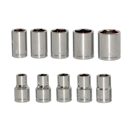 jogo de chave soquete encaixe 1/2 10/24mm 12 peças - irwin