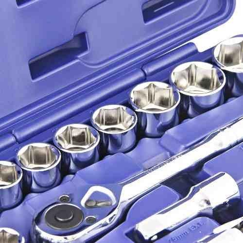 jogo de chave soquete sextavado 1/2 pol 8 a 32mm 24 pc irwin