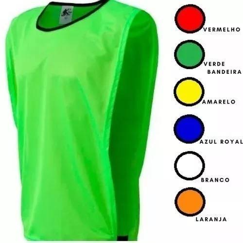 Jogo De Colete Para Futebol Em Tecido 100% Poliéster -10unid - R  70 ... 7eea6f55b59a3