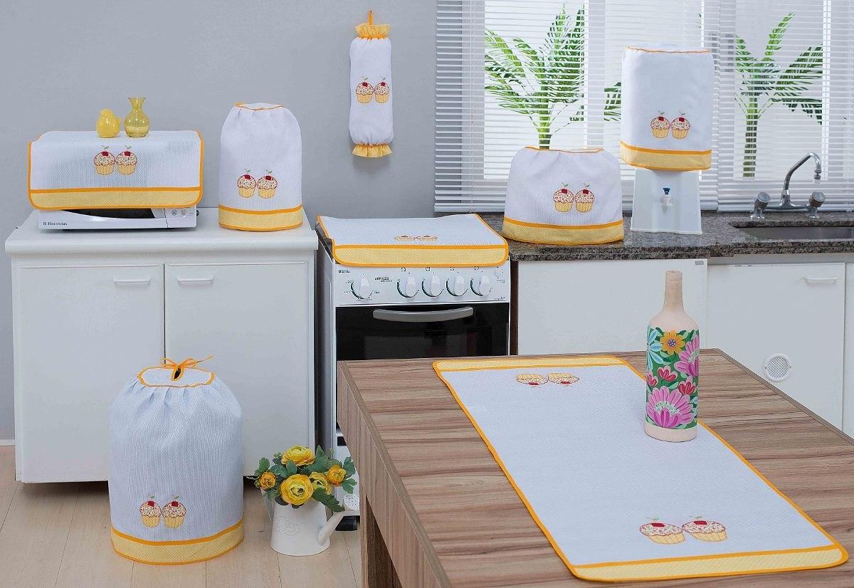 Jogo Armario De Cozinha Beyato Com V Rios Desenhos Sobre  ~ Como Fazer Conjunto De Cozinha