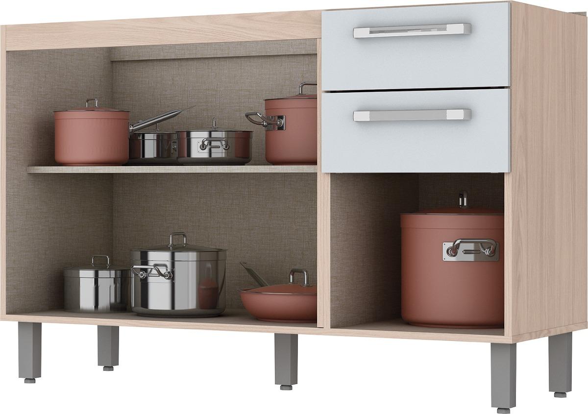 Cozinha Smart Henn Balco Com Espao Para Forno Smart Fendi Henn