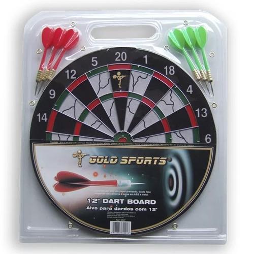 jogo de dardo 12 polegadas gold sports