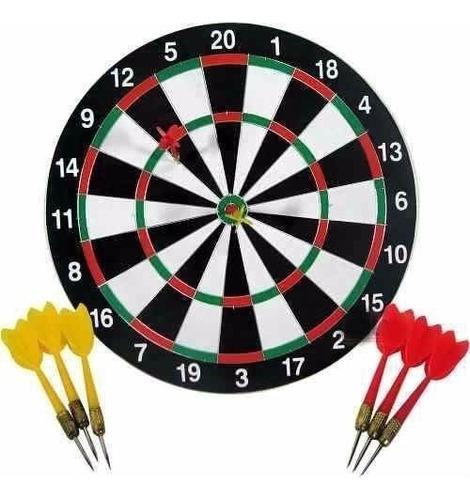 jogo de dardos alvo dupla face 17/42 cm