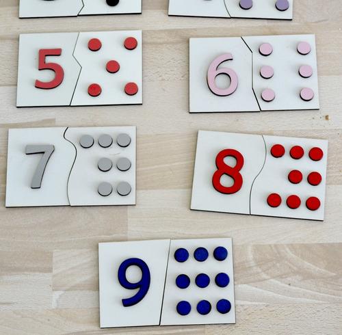jogo de encaixe numero e quantidade mdf
