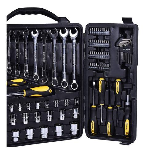 jogo de ferramentas 110 peças cromado stmt81243-840 stanley