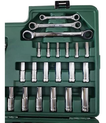 jogo de ferramentas 150 peças sata st09510sj original