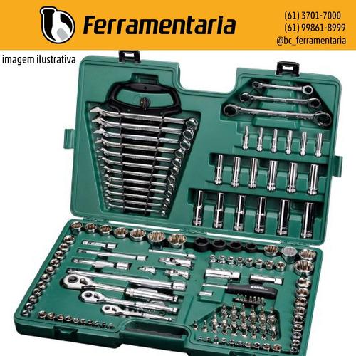 jogo de ferramentas com 150 peças - sata