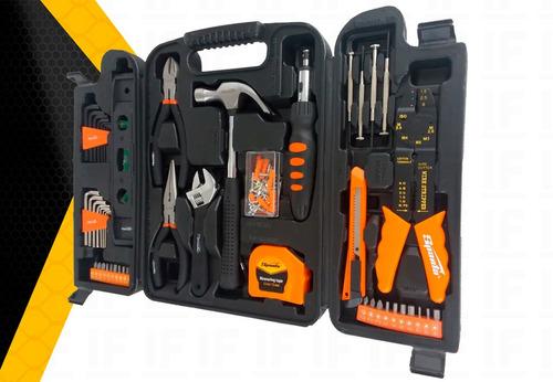 jogo de ferramentas kit 129 peças c/ maleta sparta + 40 pcs