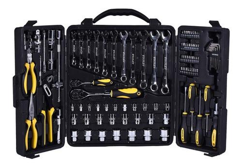 jogo de ferramentas manuais 110 peças stanley stmt81243-840
