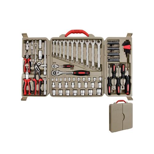 jogo de ferramentas mayle 110 peças + maletas