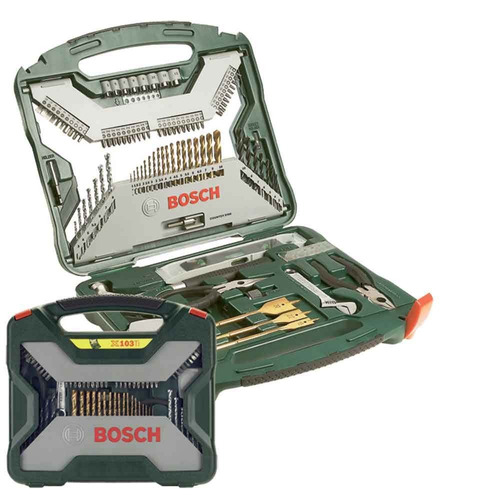 jogo de ferramentas x-line 103 peças bosch