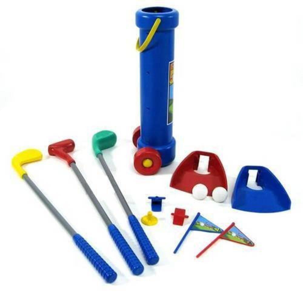04717aca40 jogo de golfe infantil com carrinho - braskit. Carregando zoom.