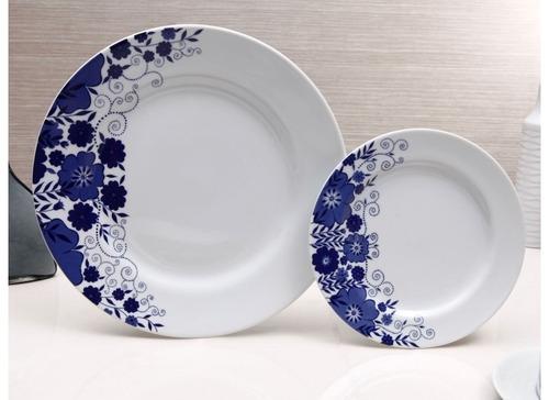 jogo de jantar porcelana schmidt c/ 42 peças - gloria