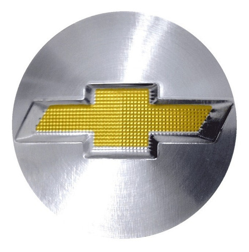 jogo de jogo de emblemas gm alumínio escovado 50 mm