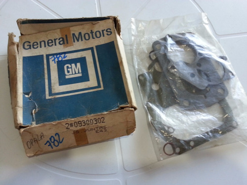 jogo de juntas carburador gm opala,c-10,c-14,a-10 74/86