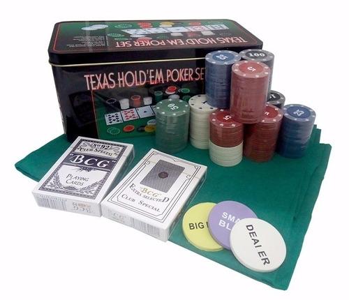 jogo de lata poker texas hold'em poker set para friends
