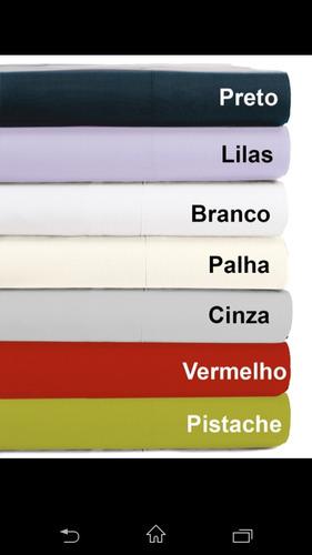 jogo de lençol 100 % algodão